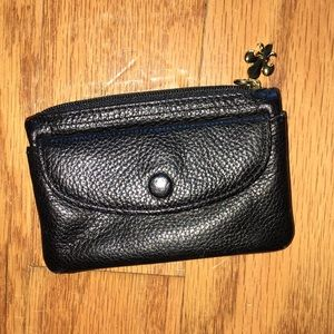 small black change purse